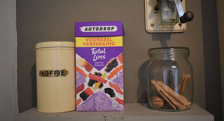 Cadeau backpacker Hollands pakket snoep