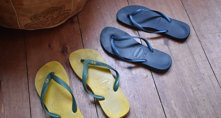 Cadeau backpacker Slippers Havaianas