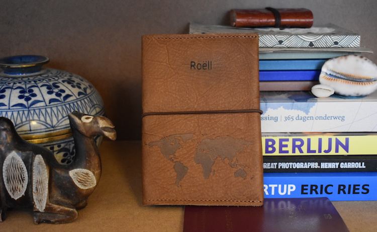 Cadeau backpacker paspoorthoes reiziger