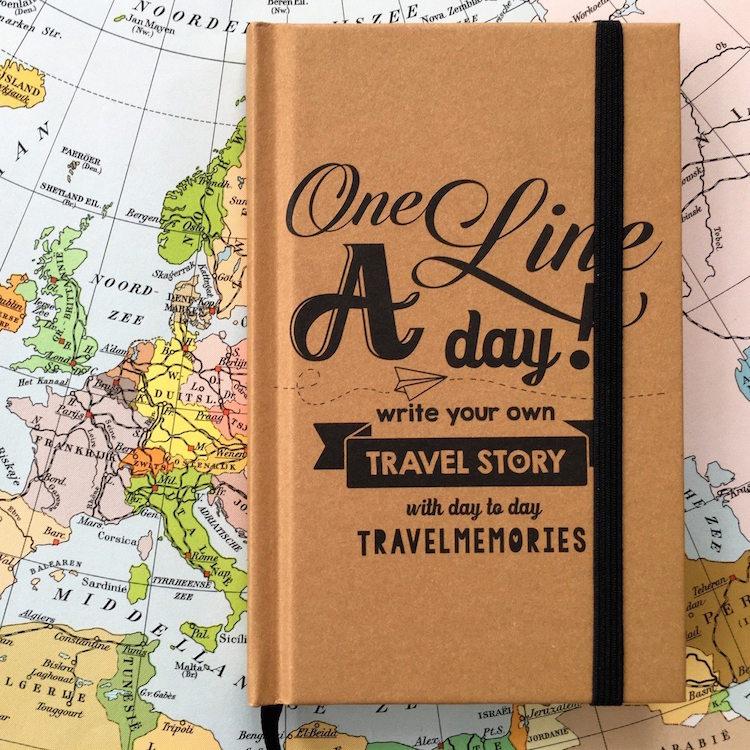 Cadeau backpacker reisdagboek