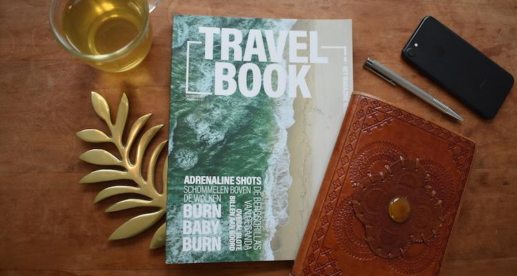 Cadeau reiziger Travelbook magazine