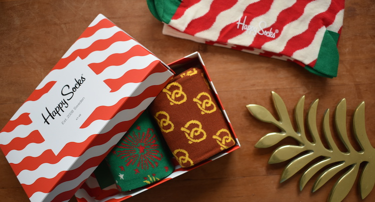 Cadeau voor reiziger cadeau backpacker HappySocks