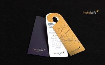 Cadeau voor reiziger hotelgift