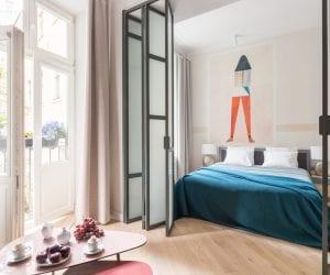 Cadena Gallery Apartments Witkacy bedroom