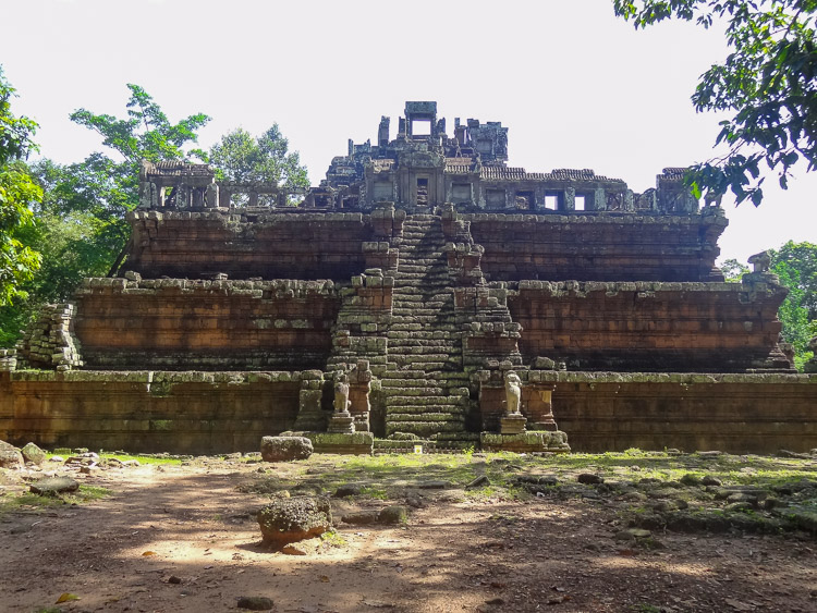 Cambodja in Angkor wat