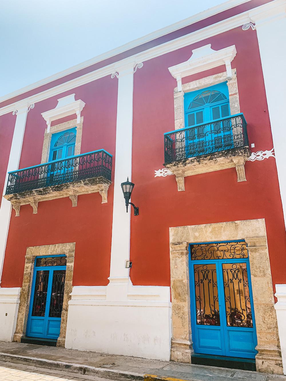 Campeche Mexico Historisch centrum
