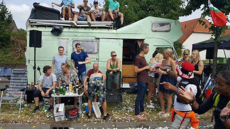 Camper Euro Trip jan stijn