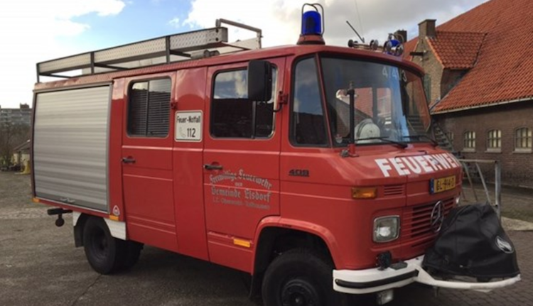 Camper huren brandweerwagen