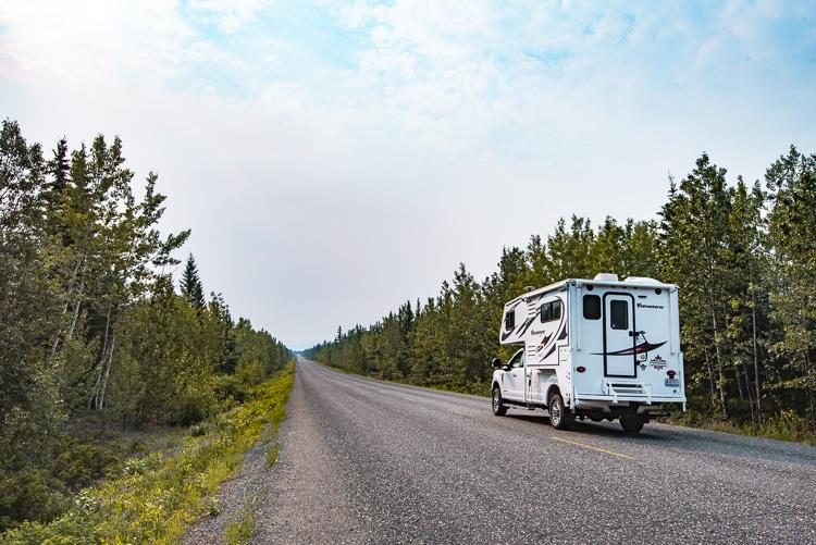 Canada Yukon camper roadtrip_