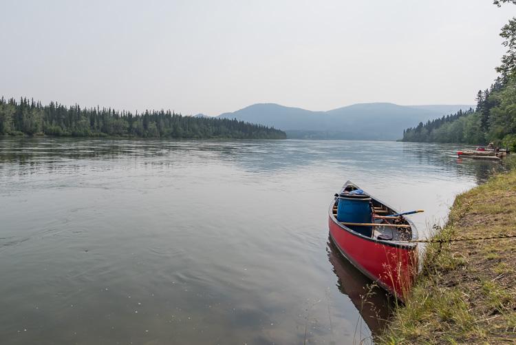 Canada Yukon carmacks_