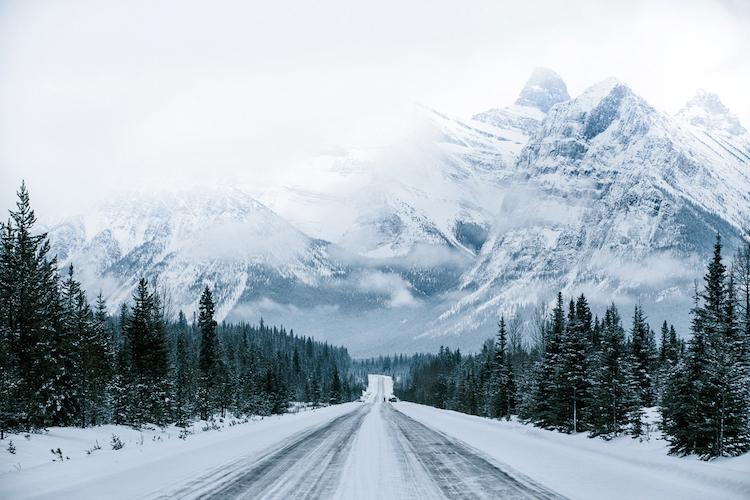 Canada wintersportbestemming icefields highway