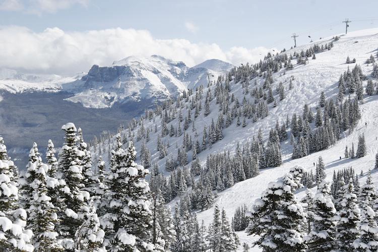 Canadian rockies in canada wintersport
