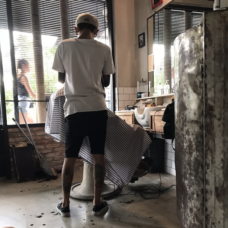 Canggu highlights barber shop
