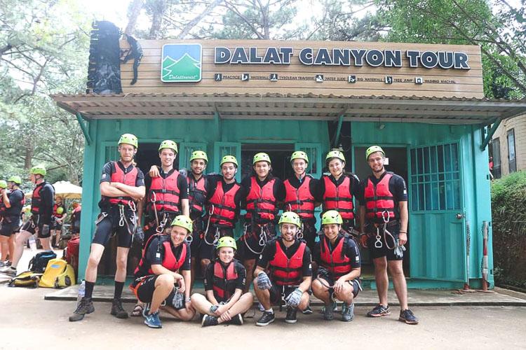 Canyon Tour da lat vietnam_