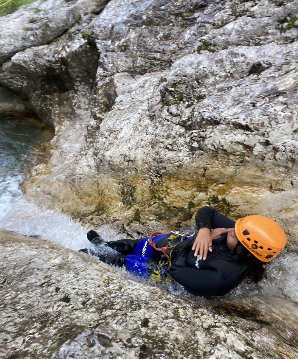 Canyoning slovenie rondreis