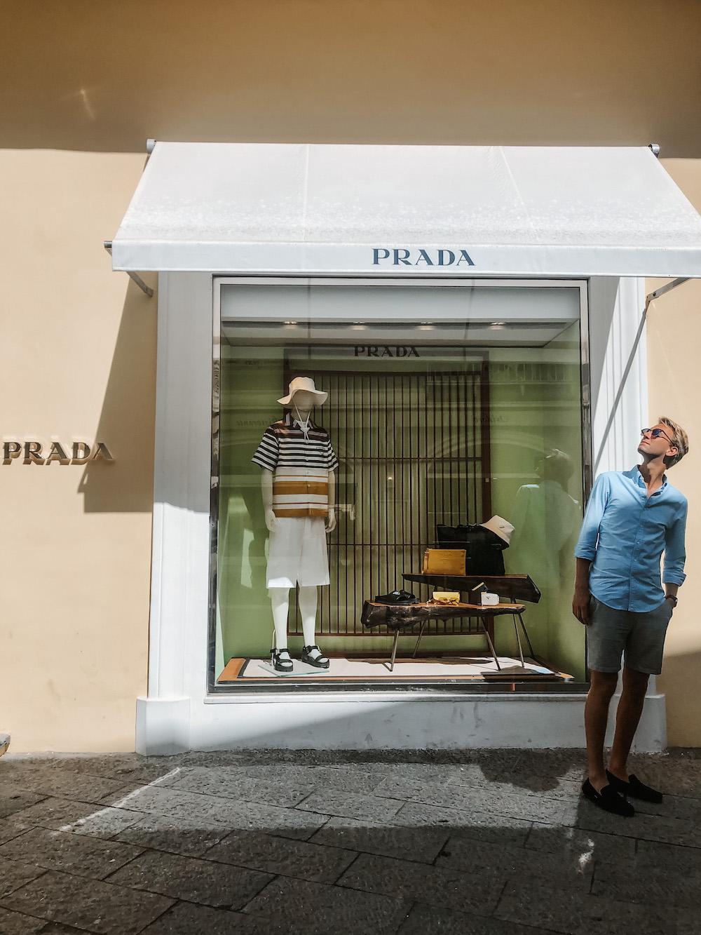 Capri winkelstraat
