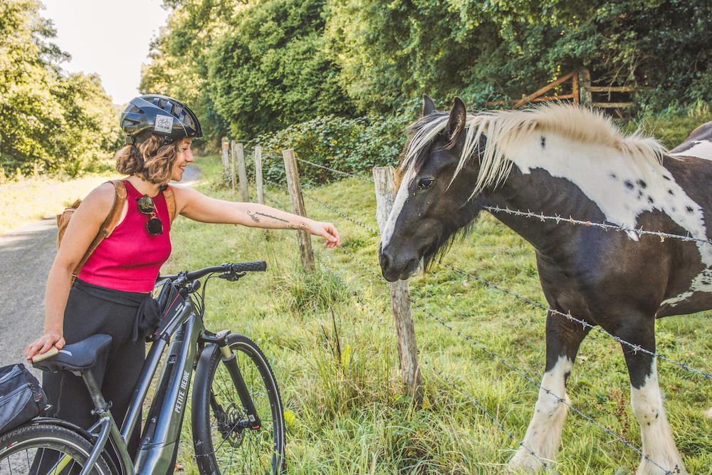Carentan fietsen in normandie