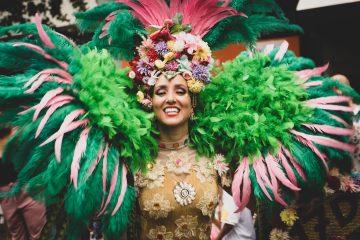 Carnaval over de wereld venetie