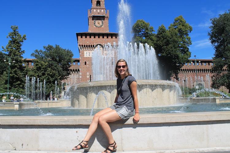 castello-sforzesco-fontein-milaan