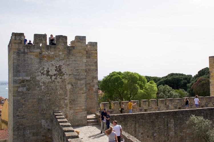 Castelo de Sao Jorge lissabon-4