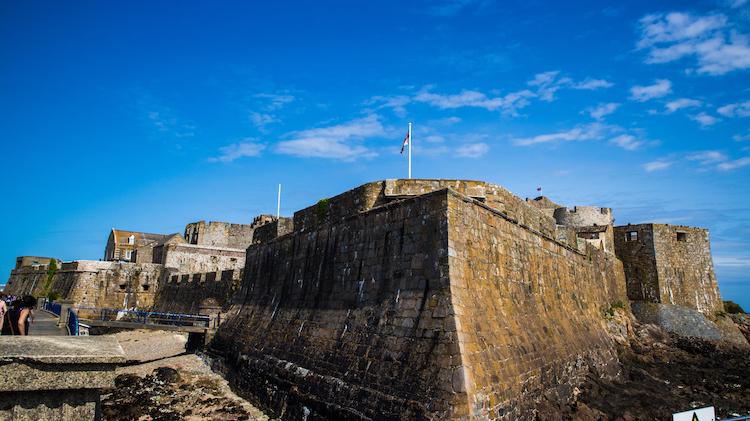 Castle Cornet op Guernsey