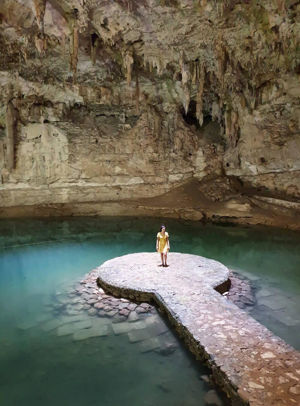 Cenote suytun mexico