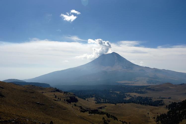 Centraal Mexico Iztaccihuatl