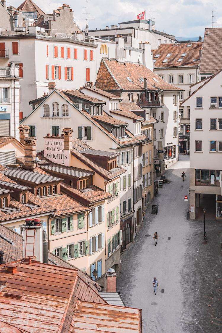 Centrum van Lausanne