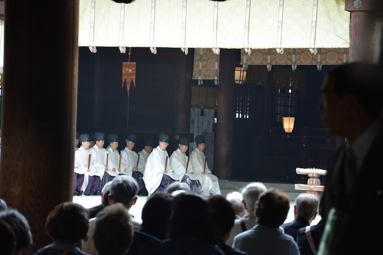 Ceremoni in tokyo