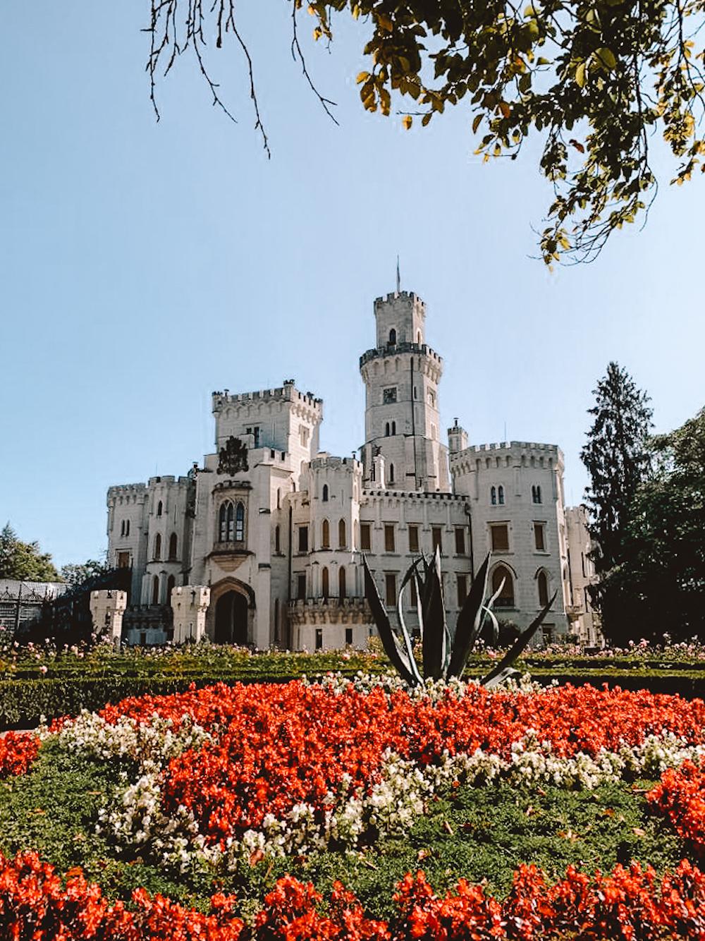 Cesky Krumlov Hluboka kasteel