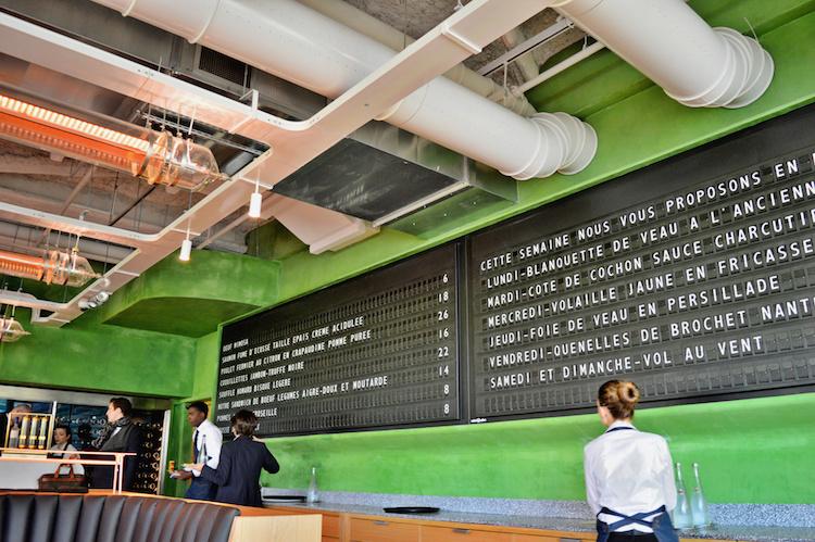 Champeaux top restaurant parijs