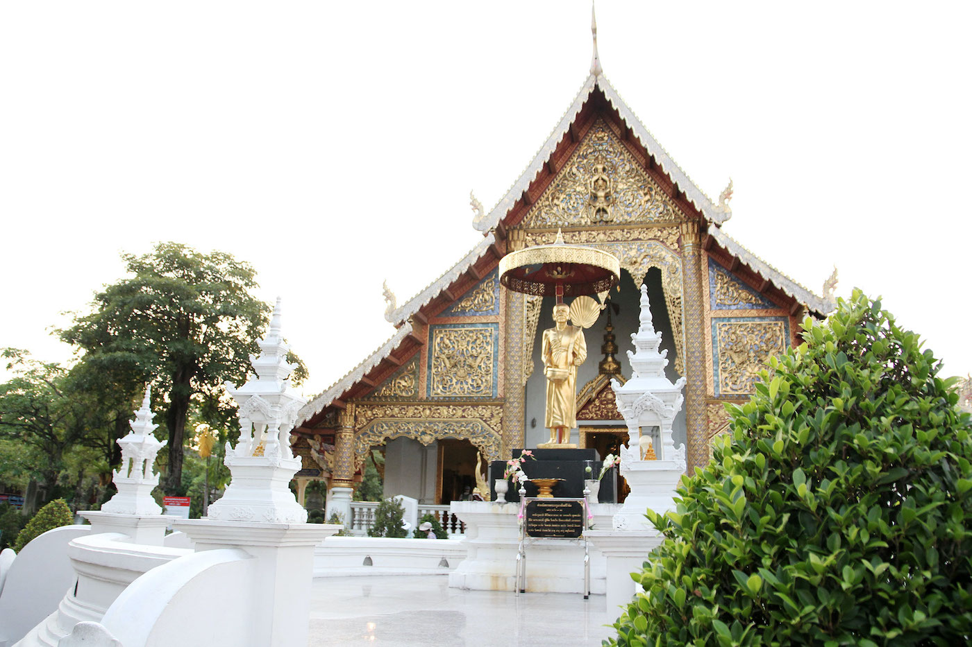 Chiang Mai in Thailand tempel tip