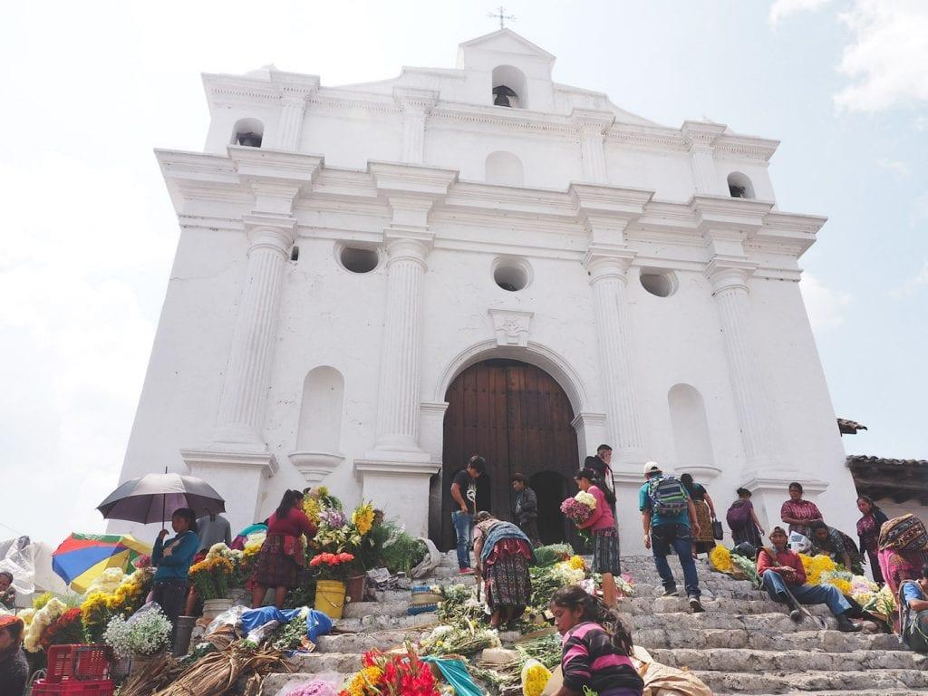 Chichicastenango Iglesia de Santo Tomas-3