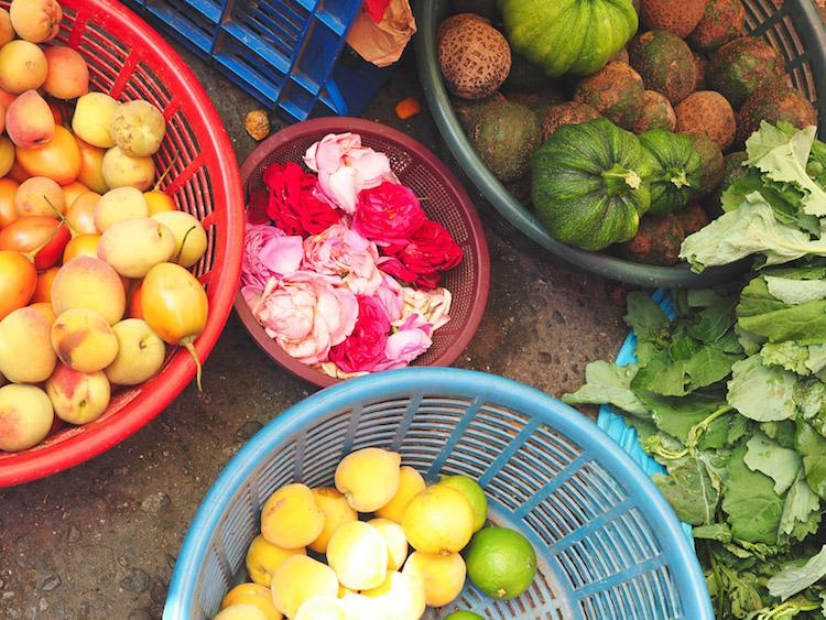 Chichicastenango markt kraampjes