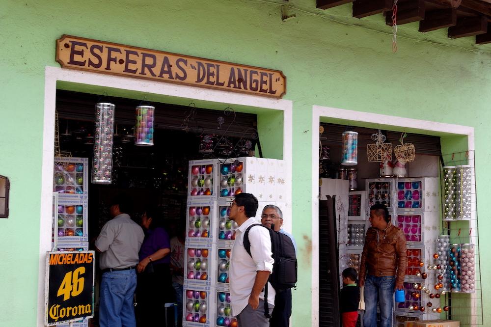 Chignahuapan mexico kerstballen
