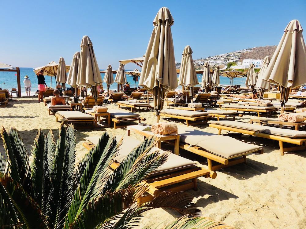 Strandtent Branco Mykonos, Cycladen eilanden