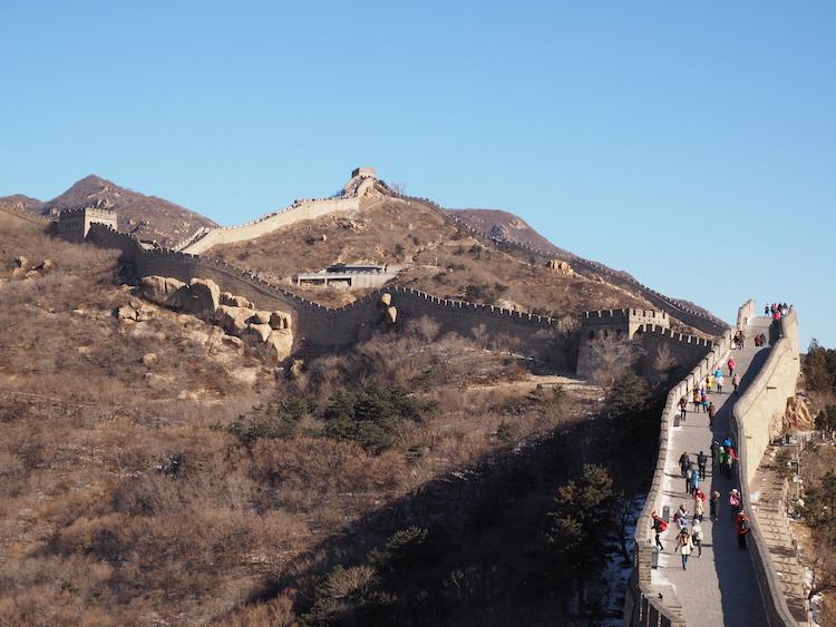 Hoe lang is de chinese muur