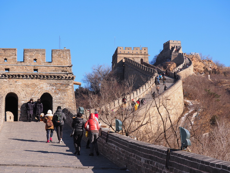 Chinese Muur wachttorens