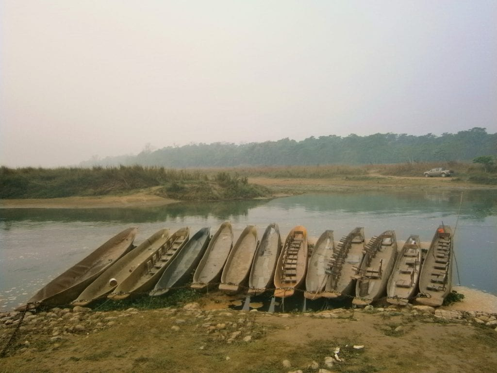Chitwan National Park nepal boot