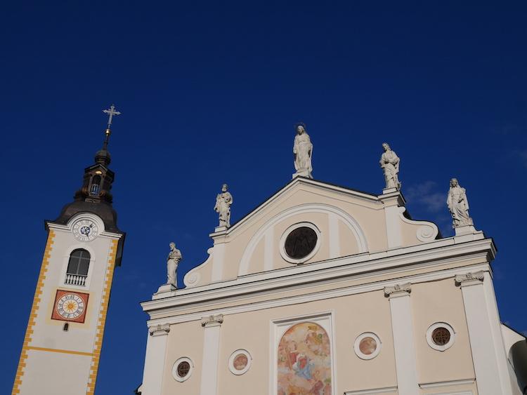 Church of Mary's annunciation Kamnik Slovenie