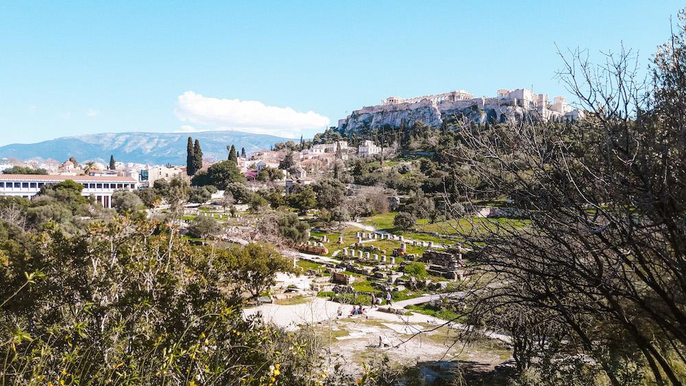Citytrip Athene De Agora