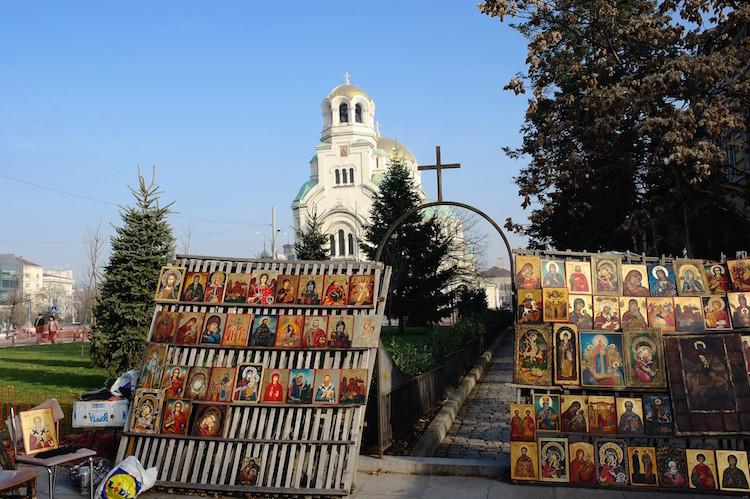 Citytrip Sofia Bulgarije Alexander Nevsky + iconenmarkt