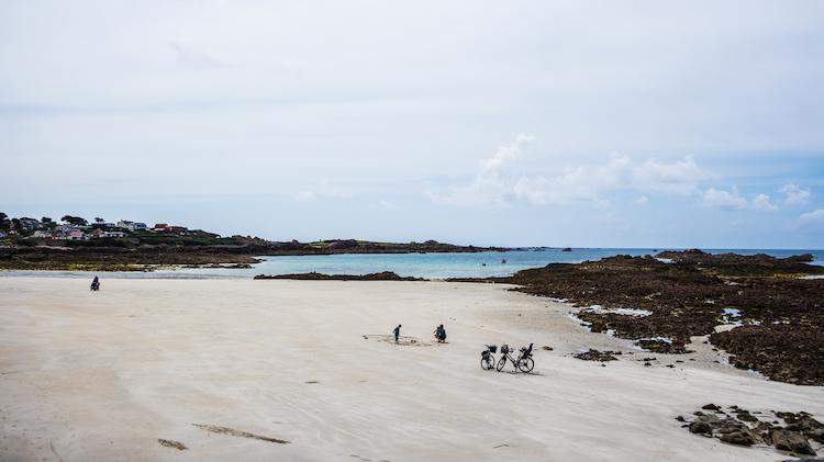 Cobo Bay kanaaleilanden guernsey