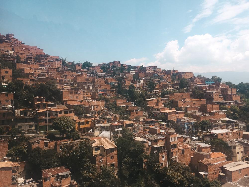 Colombia Medellin route