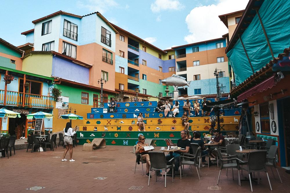 Colombia reisroute Guatape