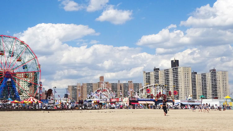 Coney Island New York strand
