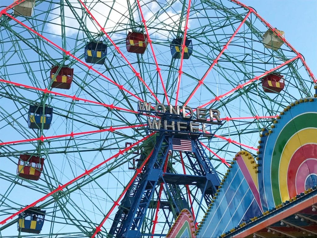 Coney Island New York wonder wheel