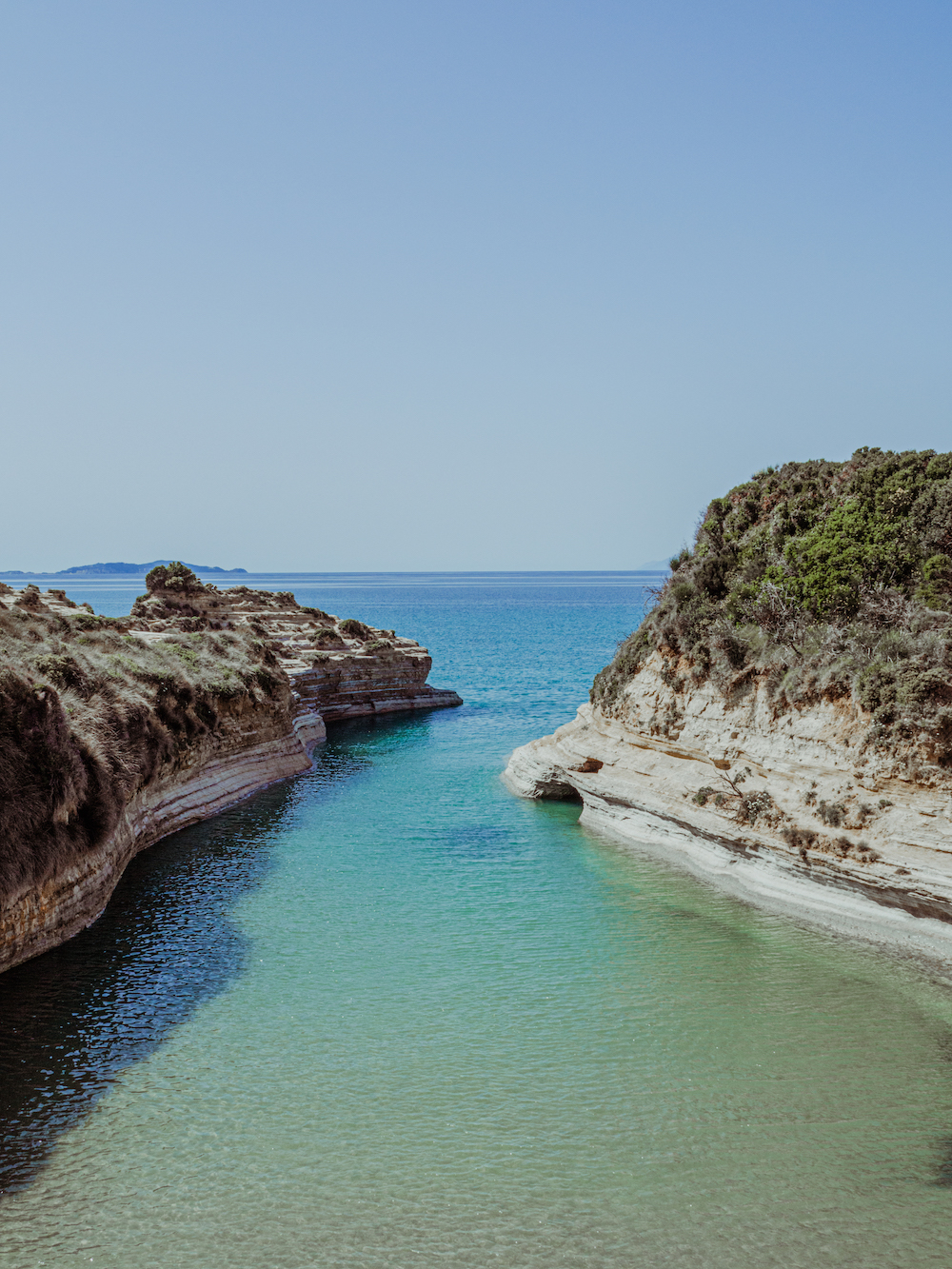 Canal d'amour Corfu
