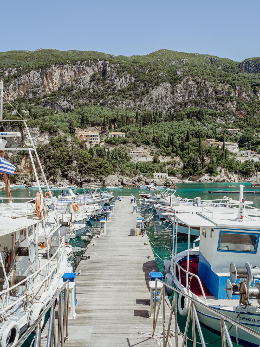 Paleokastritsa Corfu tips