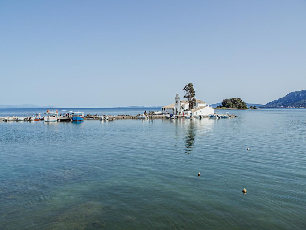 Vlacherna Klooster Corfu tips